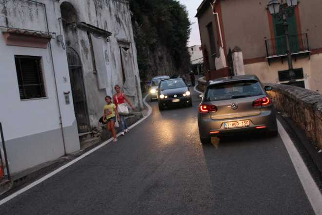 Amalfi Coast, driving - 20