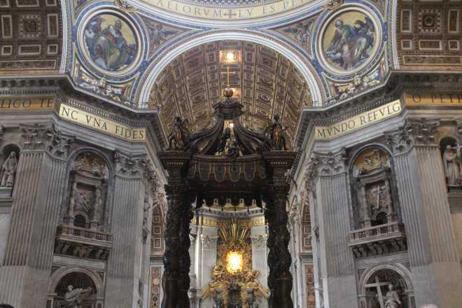 Vatican City, St. Peter's Basilica - 2