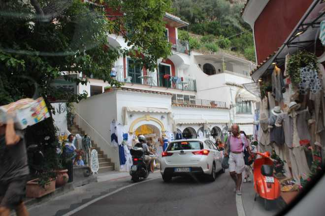 Amalfi Coast, driving - 4