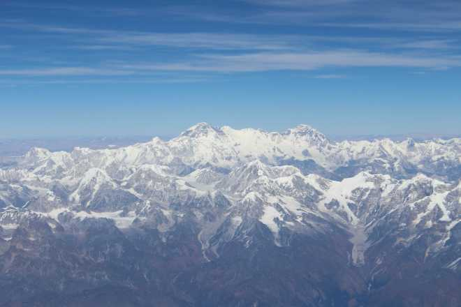 Flight to Bhutan - 10