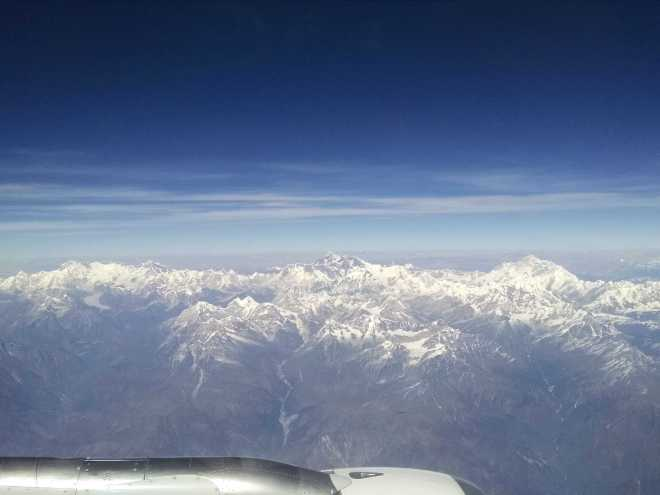 Flight to Bhutan - 11