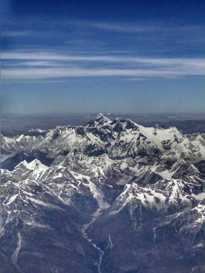 Flight to Bhutan - 14