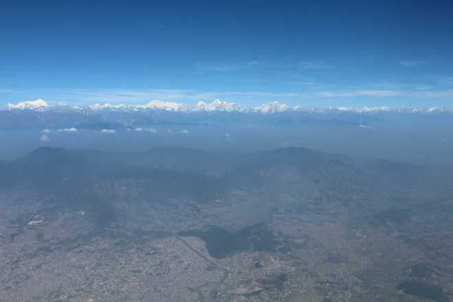 Flight to Bhutan - 6