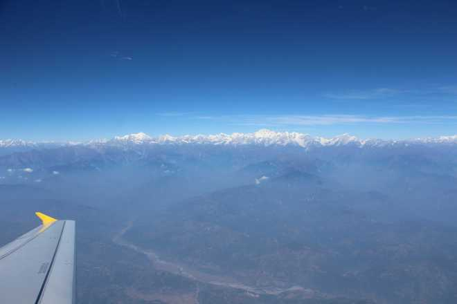 Flight to Bhutan - 7