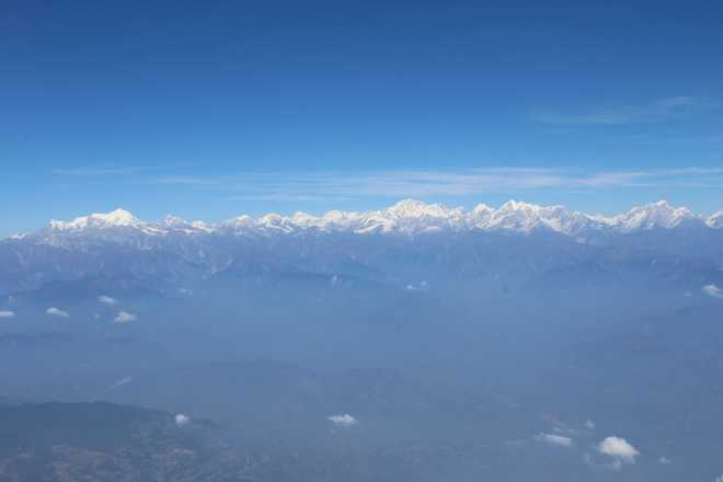 Flight to Bhutan - 8