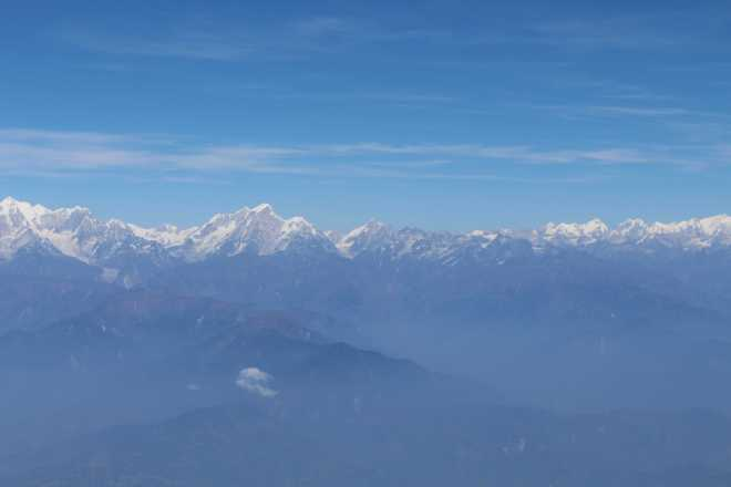 Flight to Bhutan - 9