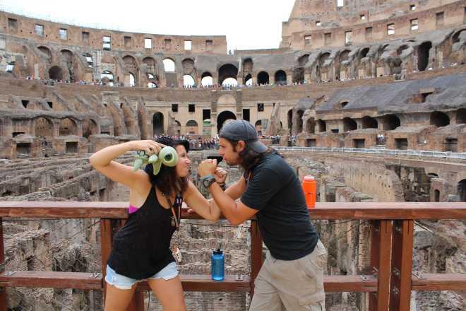 Rome, Colosseum - 11