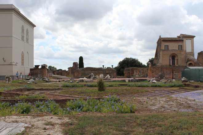 Rome, Palatine Hill - 1