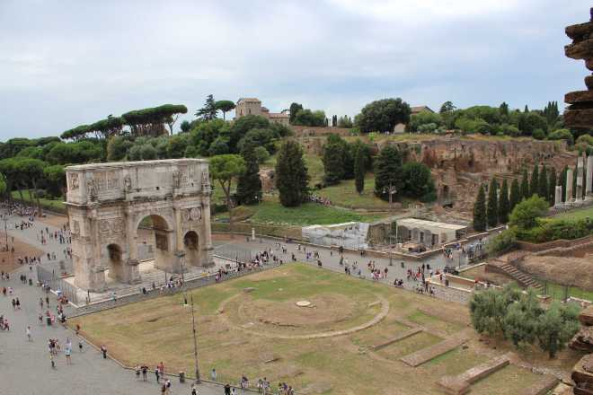 Rome, Roman Forum - 1