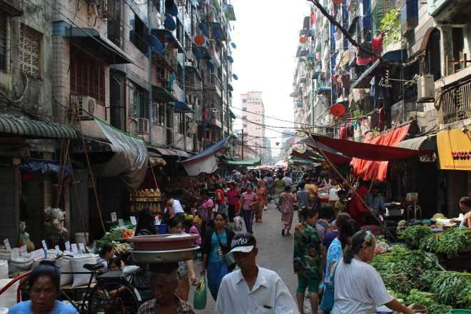 Yangon, Downtown - 1