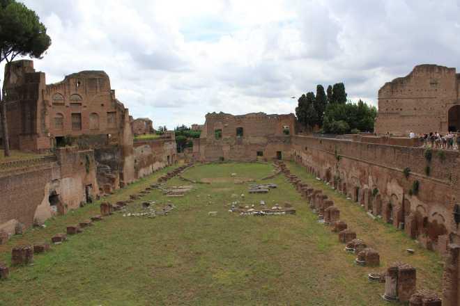 Rome, Palatine Hill - 8