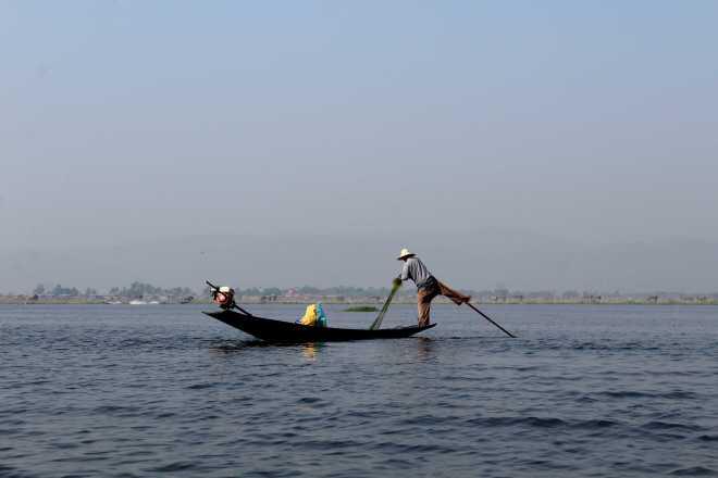 Nyaungshwe, Boat Trip - 11