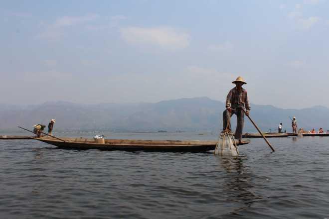 Nyaungshwe, Boat Trip - 12
