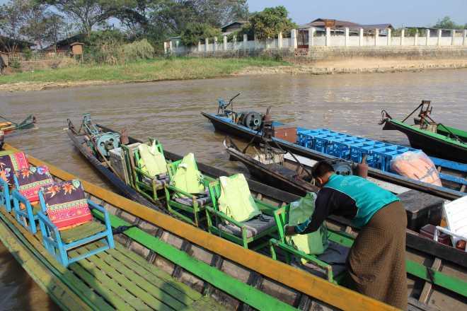 Nyaungshwe, Boat Trip - 1