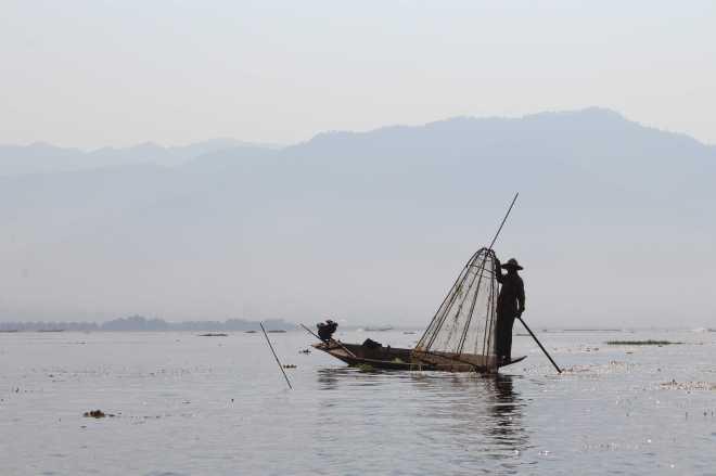 Nyaungshwe, Boat Trip - 14