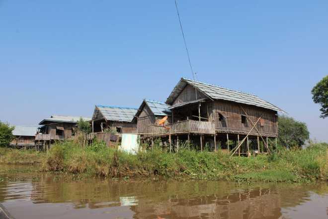 Nyaungshwe, Boat Trip - 19