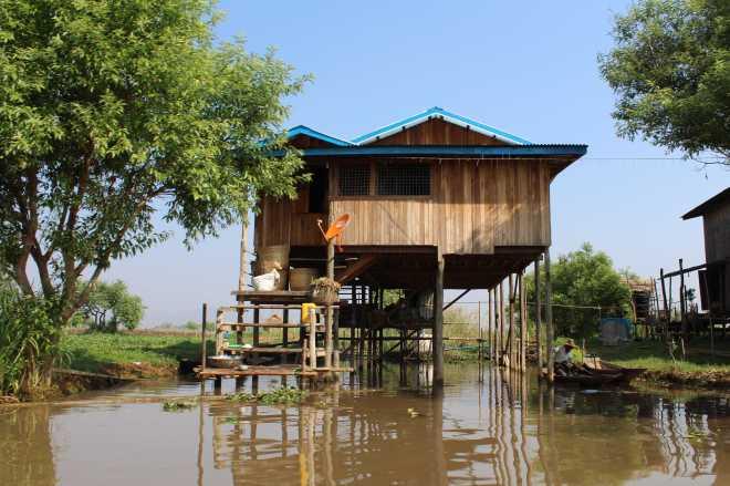 Nyaungshwe, Boat Trip - 20
