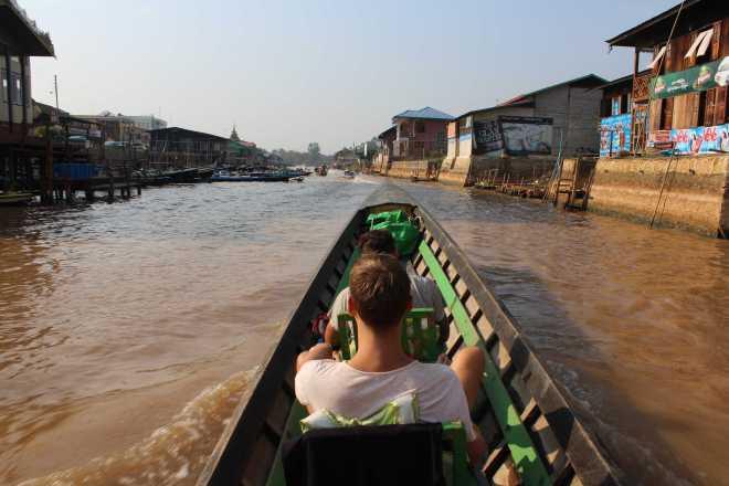 Nyaungshwe, Boat Trip - 2