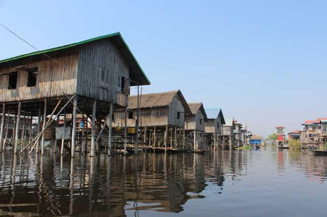 Nyaungshwe, Boat Trip - 26