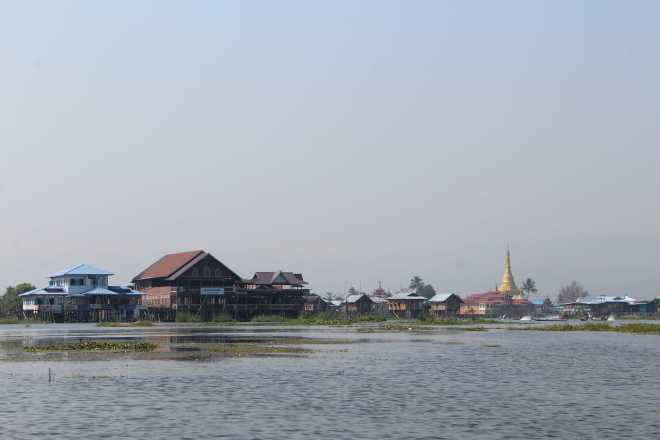 Nyaungshwe, Boat Trip - 30