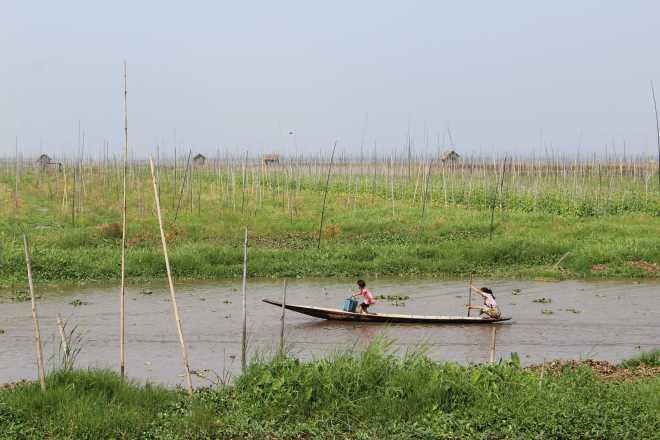 Nyaungshwe, Boat Trip - 50