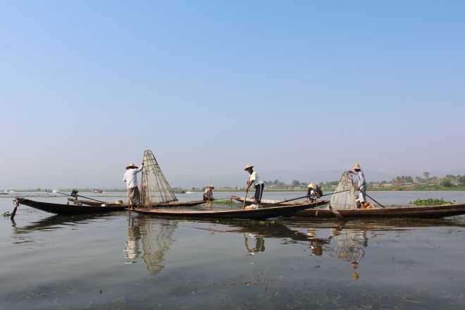 Nyaungshwe, Boat Trip - 8