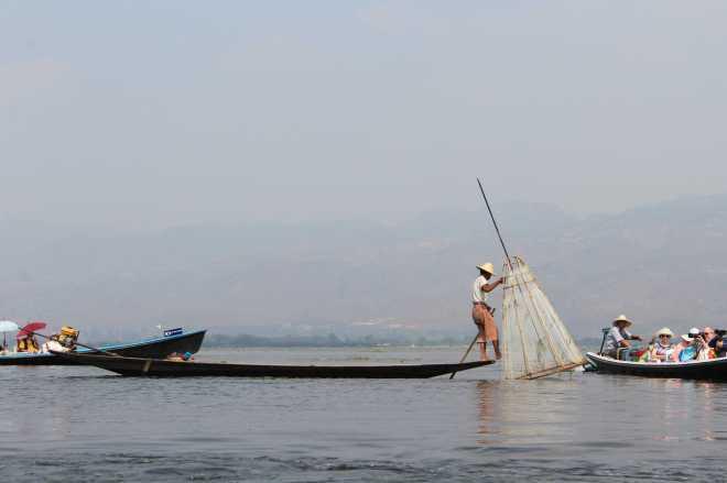 Nyaungshwe, Boat Trip - 9