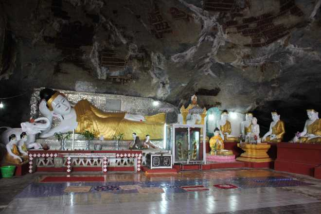 Hpa-An, 1st Cave - 10