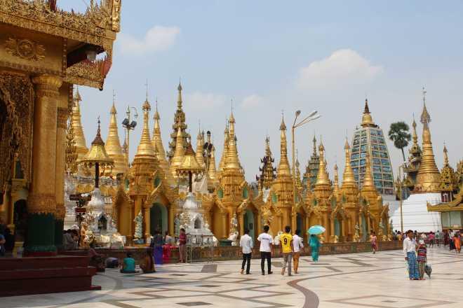 Yangon, Shwedagon Pagoda - 10