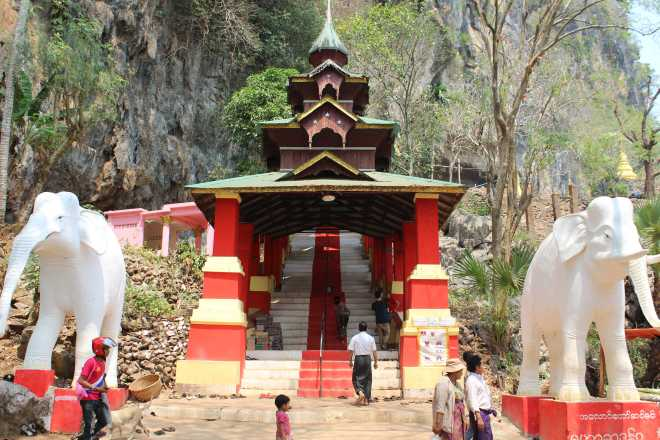 Hpa-an, Sadan Cave - 1