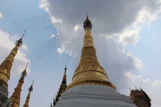 Yangon, Shwedagon Pagoda - 20