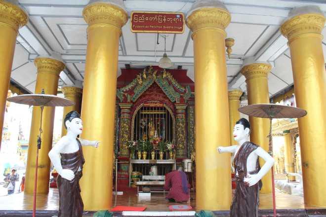 Yangon, Shwedagon Pagoda - 21