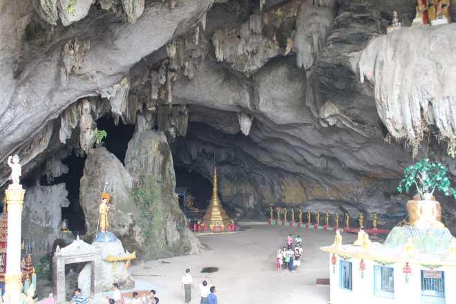 Hpa-an, Sadan Cave - 2