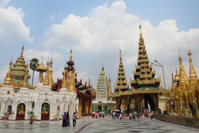 Yangon, Shwedagon Pagoda - 24