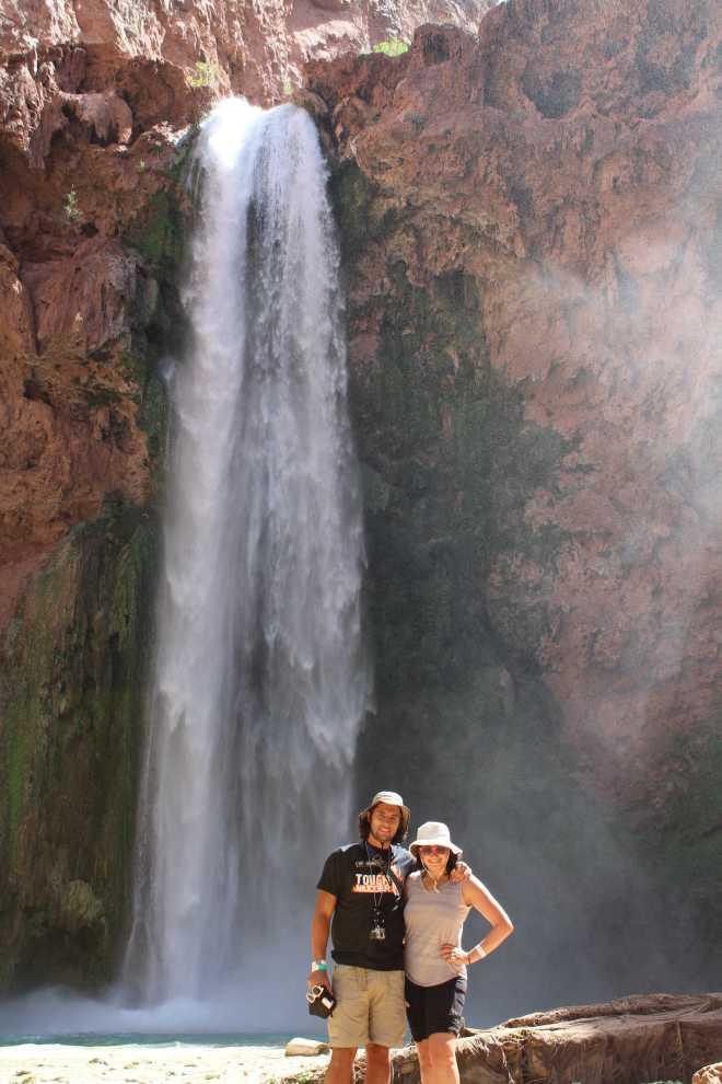 Havasupai, The Waterfalls - 2