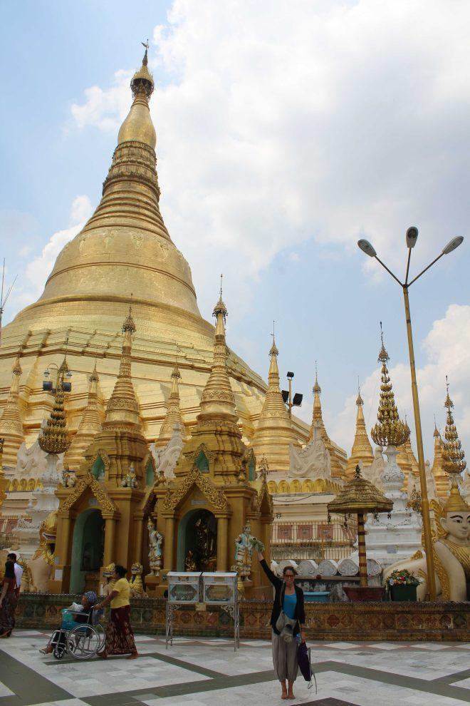 Yangon, Shwedagon Pagoda - 28