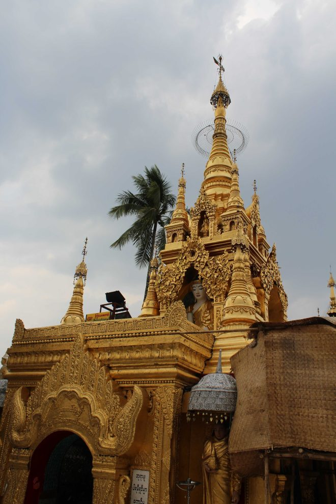 Yangon, Floating Pagoda - 3