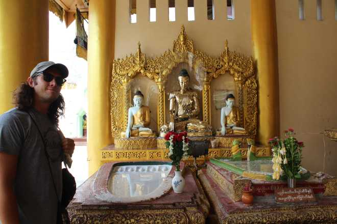 Yangon, Shwedagon Pagoda - 3