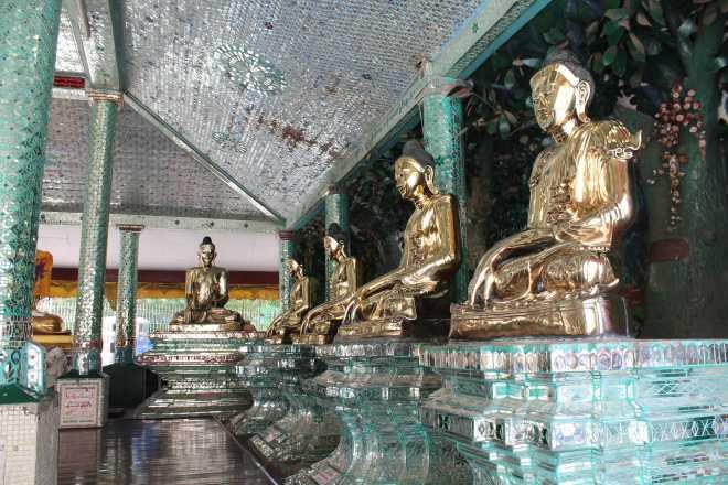 Yangon, Shwedagon Pagoda - 4