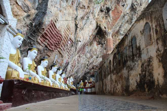 Hpa-An, 1st Cave - 4