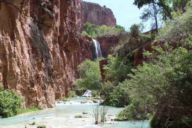 Havasupai, The Waterfalls - 4