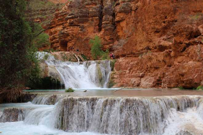 Havasupai, The Waterfalls - 9
