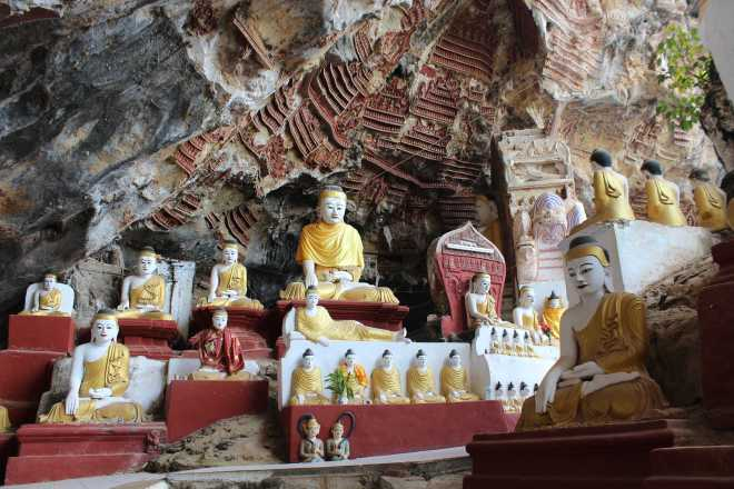 Hpa-An, 1st Cave - 8