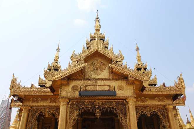 Yangon, Shwedagon Pagoda - 9