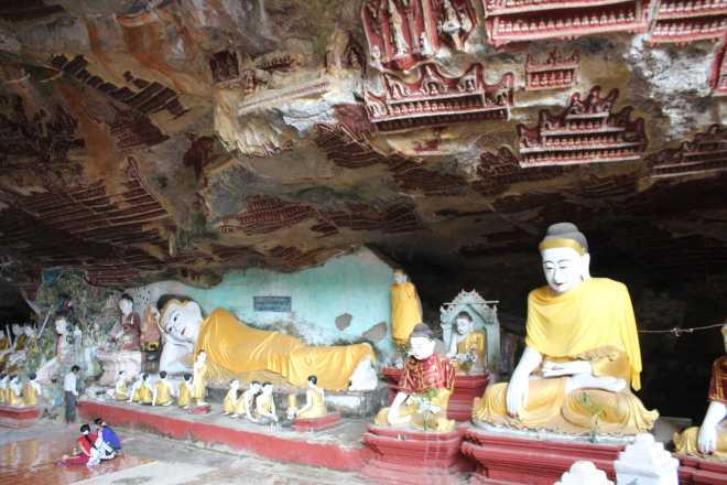 Hpa-An, 1st Cave - 9