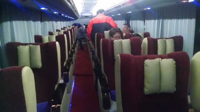Bagan-Yangon Night Bus - 1